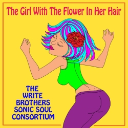 The Girl With the Flower in Her Hair cover art