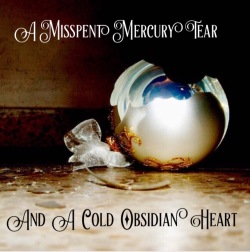 A  Misspent Mercury Tear and a Cold Obsidian Heart cover art